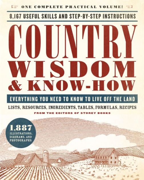 Country Wisdom And Know How Black Dog Leventhal